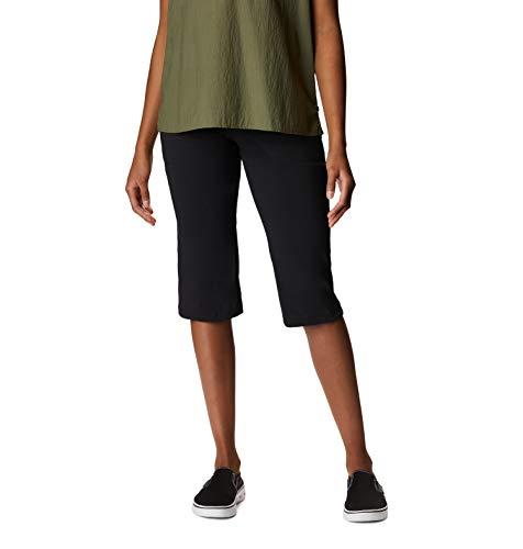 Mountain Hardwear Women' s Dynama Capri Pant, Donna, Dynama Capri, Black, M