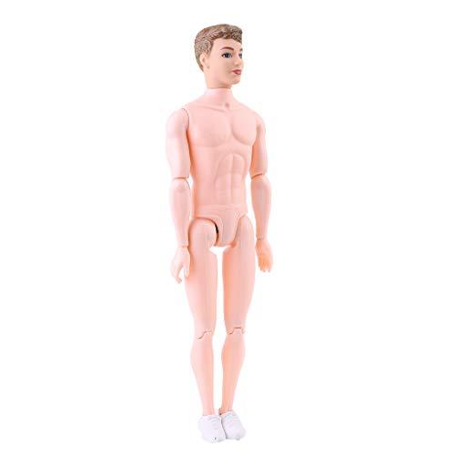 GASSDINER Cuerpo de muñeca Desnuda, 30 cm 12 muñecas Desnudas articuladas movibles,...