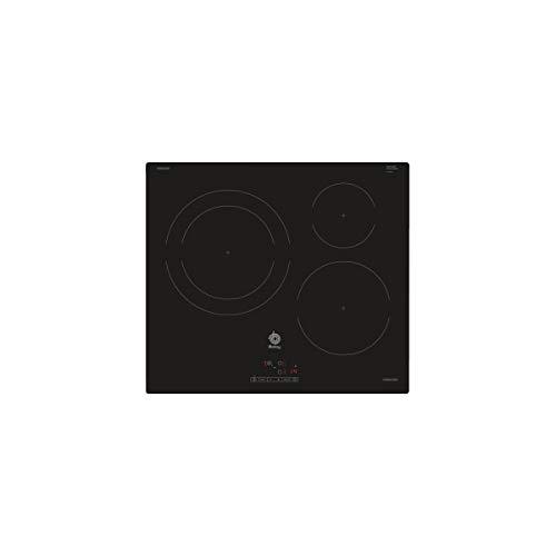 Balay 3EB865ERS - Placa de Inducción, 60cm, 3 Zonas, Control Táctil
