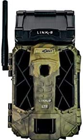 SPYPOINT Link-S-V 4G LTE Cellular MMS IR Infrared Solar Panel Trail Camera with Free 16GB SD Card