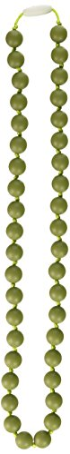 Great Features Of Gumeez Lola Teething Necklace, Avocado, One Size