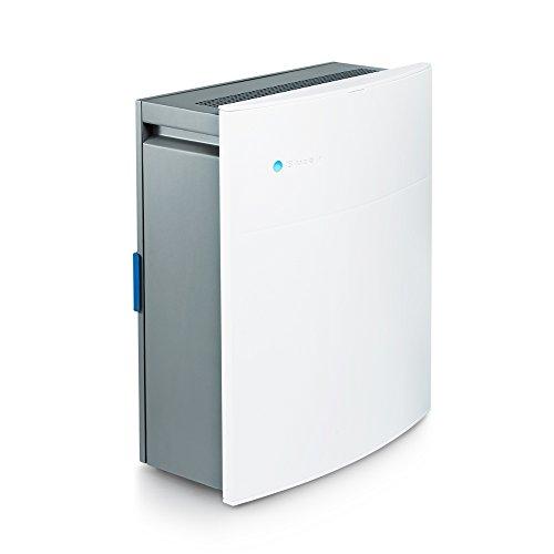 Blueair Classic 205 Luftreiniger mit Partikelfilter echte HEPA-Leistung durch HEPASilentFiltration für Allergene, Staub, Schimmelpilzbefall, Asthma und COPD-Entlastung, kleine Flächen, leiser Betrieb