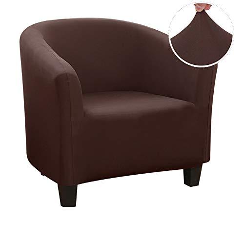 IVYSHION Funda elástica para sillón, funda de sofá, de jacquard, para cafetería, silla
