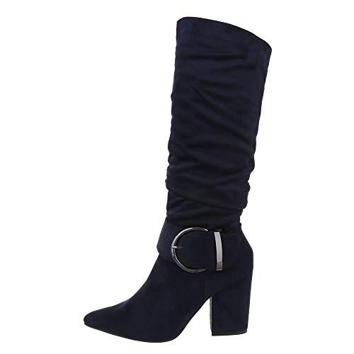 Ital-Design Damesschoenen Laarzen met hoge hak