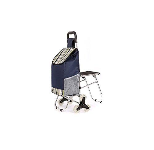 Carro Plegable/portátil, aleación de Aluminio, con Silla, Escalada