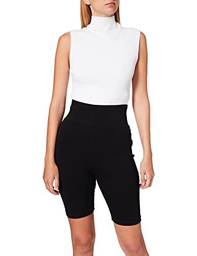Urban Classics Ladies Radler-Hose Ladies Radler-hose High Waist Cycle Shorts Pantaloncini da Yoga, black, M