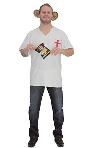 Disfraz de Gary Lineker para adultos, para disfraz de fiesta [L/XL]