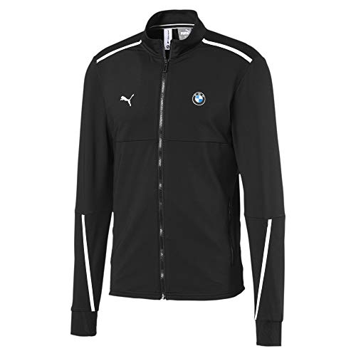 PUMA BMW M Motorsport Herren Slim Fit Trainingsjacke Puma Black S