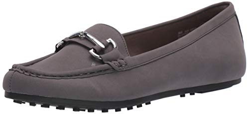 Aerosoles Women's Day Driving Style Loafer, Grey, 6.5