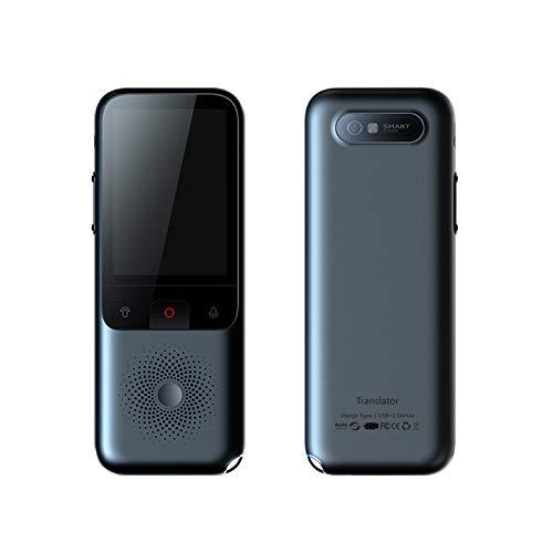 MCalle Traductor de voz T11 con traducción de cámara (OCR), traducción de 138 idiomas en modo online (WLAN o Hotspot) y 14 en modo sin conexión, Android 7.