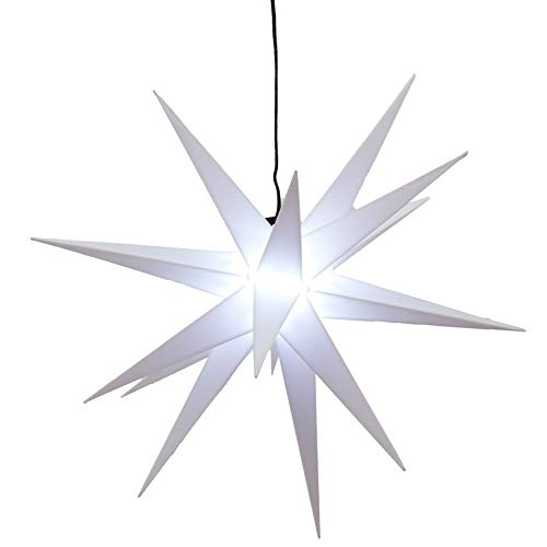 Preis am Stiel LED Weihnachtsstern | Outdoor | Weihnachtsbeleuchtung | Stern | Advent | Fensterstern | Lampe | Fensterdeko | Lichterdeko | Aussenbereich | Adventsstern