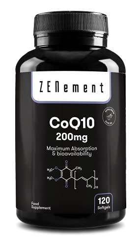 Coenzima Q10 200 mg, 120 Capsule Sofgel   Con Olio...