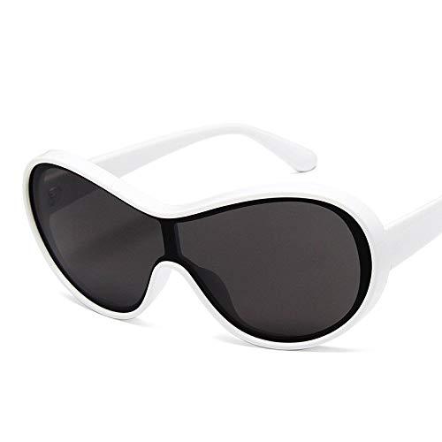 LLXXYY Gafas De Sol,Gafas De Sol Vintage Blanco Hombres De Conducción Tonos Clásicos Masculinos Gafas De Sol Gafas De Sol Gafas De Conducción Deportivo Ciclismo De Montaña Luz Polarizada Goggle Eye