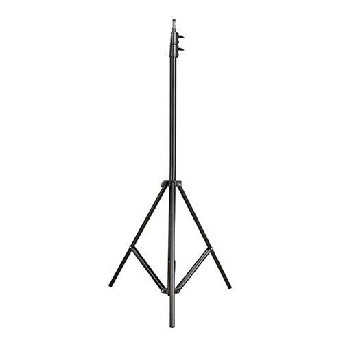 Soporte De Luz Para Fotografía Soporte de luz de estudio de fotos de 2.8m / 9.2ft con 1/4 tornillo para video retrato de estudio, caja de estudio, fotografía de producto Adecuado Para Equipos Fotográf