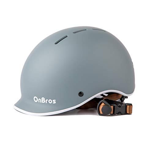 OnBros Adult Bike Helmet, Adjustable Bicycle Helmets for Men and Women, Youth Helmet for Road Bike Mountain Bike Cycling Urban Commuter
