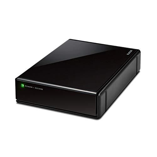 エレコム HDD 外付けハードディスク 4TB SeeQVault対応 テレビ録画 かんたん接続ガイド付き 静音ファンレス設計 ブラック ELD-QEN2040UBK