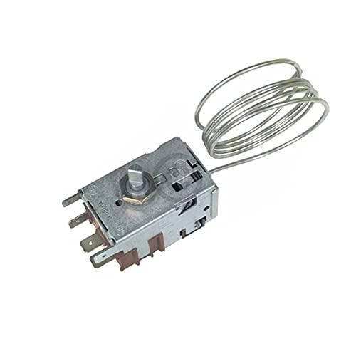 DL-pro Termostato para nevera Gorenje 596279 Danfoss 077B6738 Termostato de refrigeración, termostato de temperatura para frigorífico con descongelación automática