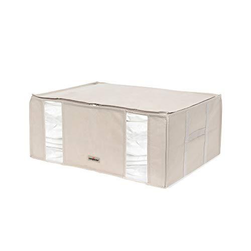 Compactor Bolsa de almacenamiento al vacío , semi-rígida, ahorra espacio, Tamaño XXL- 210 litros, Gama Life 2, 0, Color beige, RAN7650
