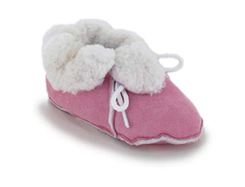 Magicfelt® baby lamsvel Bambina huisschoen, roze