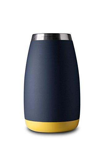 Mandahorn Acero Aktiv Kühlflasche/Weinregal Celsius Black Blue Matt (Azure Blue) Zitronengelb