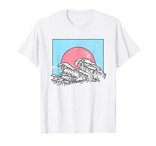 Wellen Natur Sommer Surf Surfer Oberteil Travel T-Shirt