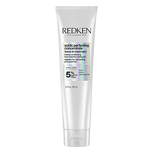 Redken | Acidic Perfecting Concentrate | Leave-In Treatment | For Dry & Damaged hair | Conditioning, Smoothing & Heat Protection| 150ml