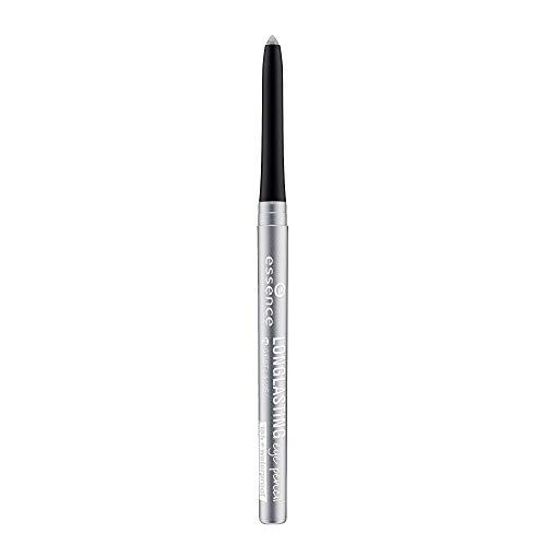 essence LONG-LASTING eye pencil, Kajal, Nr. 05 c'est la vie!, grau, definierend, langanhaltend, vegan, Nanopartikel frei, ohne Parfüm (0,28g)
