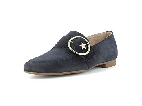 Paul Green Damen SlipperMokassins 2570, Frauen Slipper, schlupfhalbschuh Slip-on College Schuh Loafer businessschuh weibliche,Space,37 EU / 4 UK