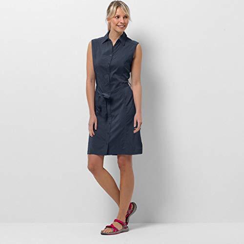 Jack Wolfskin Women Sonora Dress, Midnight Blue, M