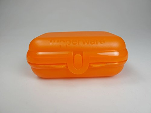 TUPPERWARE To Go Twin orange Brotdose Behälter Lunchbox Twin klein Größe 2