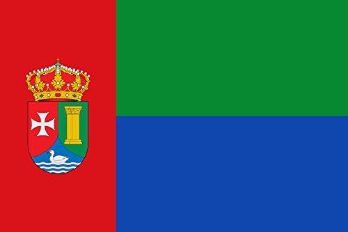 magFlags Bandera Large Municipio de es Abánades es Castilla-La Mancha | Bandera Paisaje | 1.35m² | 90x150cm