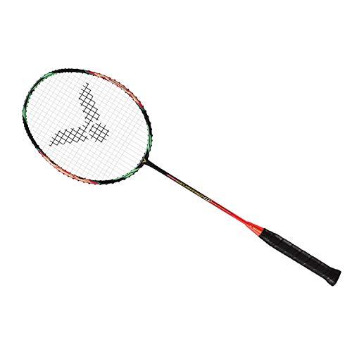VICTOR Jet Speed S 10-Q G5 Speed Series Unstrung Badminton Racket (Pink/Black) (3U)