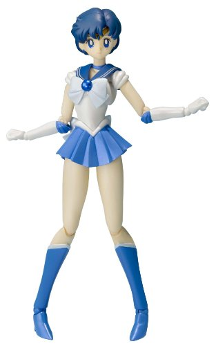 BANDAI, Action Figure di Sailor Mercury da Sailor Moon, Tamashii Nations