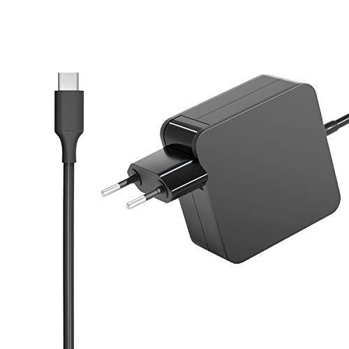 Milipow Adattatore di alimentazione da 65 W 45 W per Lenovo USB-C Thinkpad T480 T580 T480S P51S P52S X280 X270 E480 E580 L580 Thinkpad X1 Carbon 5G 6G 6.5. ThinkPad X1 Yoga 2.