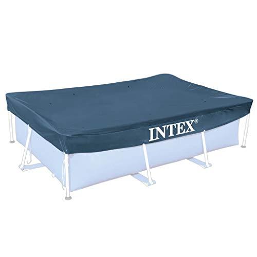 Scopri offerta per Festnight, telone di copertura per piscina, rettangolare, in polietilene, 300 x 200 cm, colore: blu scuro