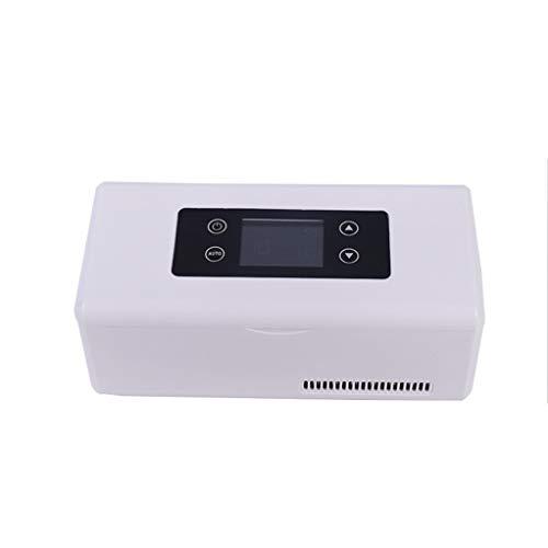 GSS-Sports ball Nevera Refrigerador Portátil, La Temperatura Constante Inteligente + Sistema de Alarma Portátil de Medicina, Refrigeración Pequeño Refrigerador