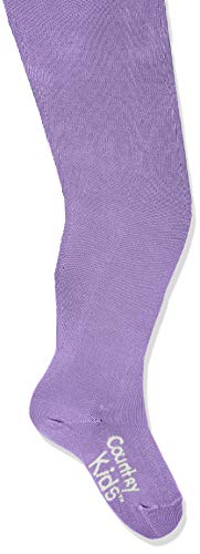 Country Kids Luxury Cotton Tights Collants, Violet (Chalk), Mois (Taille Fabricant: 0-6) Fille