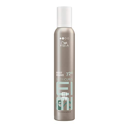 Wella EIMI Professionals - Nutricurls Boost Bounce, Mousse per capelli ricci, 300 ml