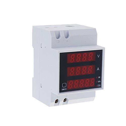 KKmoon Multimetro Digitale Amperometro Voltmetro Metro di Corrente Voltaggio Potenza