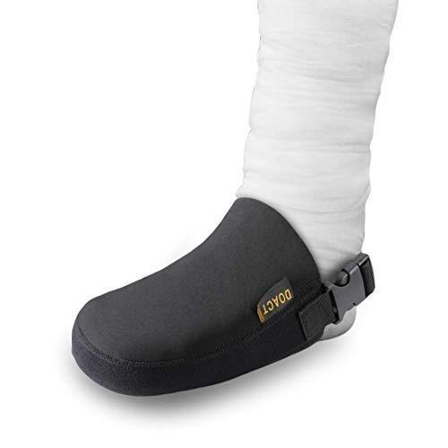 Doact gipsbeschermer sokken afdekking voeteneinde met anti-slip riem, Protect Cast Walking Boot en orthesrails bretels schoon