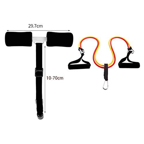 Widerstandsband LHY- Sit-up-Hilfe Faule Fitnessgeräte Bett Rückenbrett Haushalt Bauchmuskeltraining Bequem (Color : C)