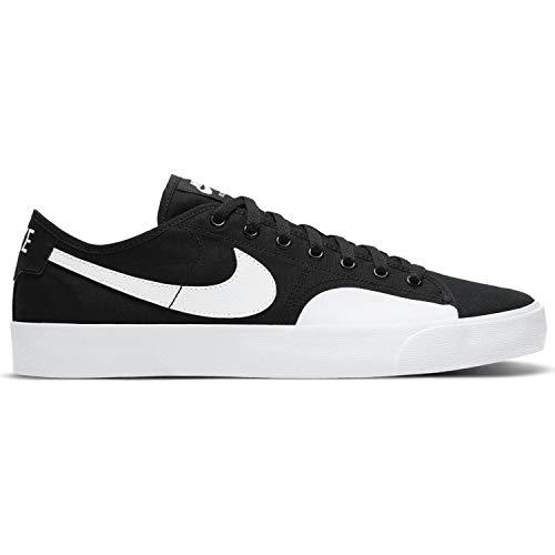 Nike SB Blazer Court Skateboard Scarpe da uomo, Nero (nero e bianco, nero e marrone chiaro), 42.5 EU
