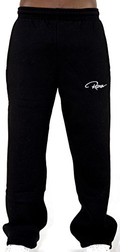Redrum Jogging Plain Pant Hose, Größe:XXL;Präzise Farbe:Schwarz