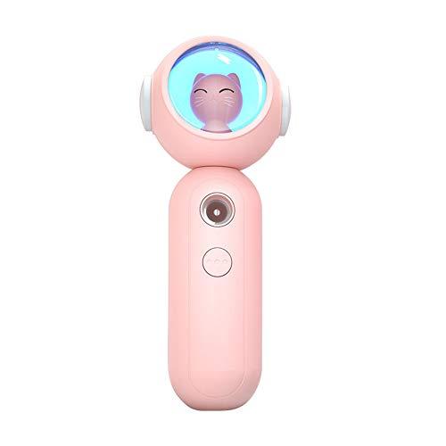 2020 Facial Nano De nevelSpuit, Verstuiving Wimperextensions Verstuiving Gezicht Bevochtiger Stoomboot, Huid Hydraterend Schoonheid Bevochtiger Hydratatie Spray, 30 ml,Pink