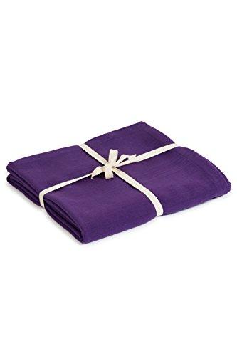 Yoga Studio Blanket/Purple/YS Manta de Yoga (algodón orgánico), Color Morado, Unisex, Normal