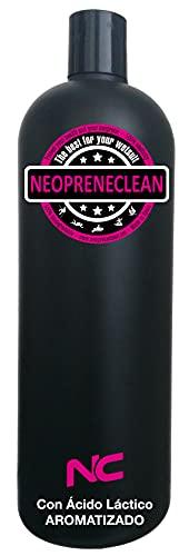 NeopreneClean 1 Litro. Aroma Sandia. Producto Recomendado por la FES. Desinfecta, desodoriza y conserva la Elasticidad.