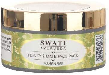 Impacco alle erbe Swati Khadi al miele e datteri (l'imballaggio può variare)