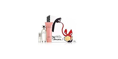 Estèe Lauder Pleasures To Go Perfume Set: 1.7 Oz Eau de Parfum Spray + .14 Oz Eau de Parfum Spray + 3.4 Oz Body Lotion