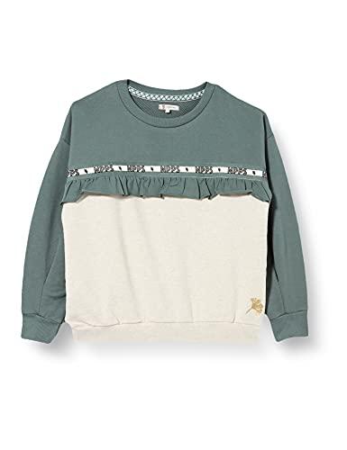 Noppies G Sweater Lilachill Suter Pulver, Silver Pine-P222, 104 cm para Niñas