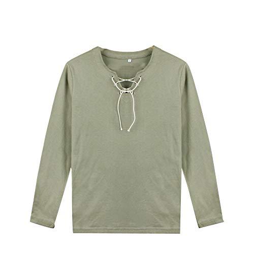 CaoXunX T-Shirt da Uomo Unisex Attacco su Titano Eren Jaeger T-Shirt Cosplay Shingeki No Kyojin T-Shirt Casual Scout Manica Lunga/Manica Corta